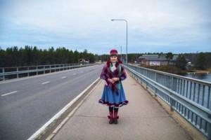 Young Sámi Laura Pieski