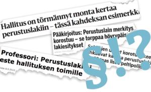 Suomen perustuslaki