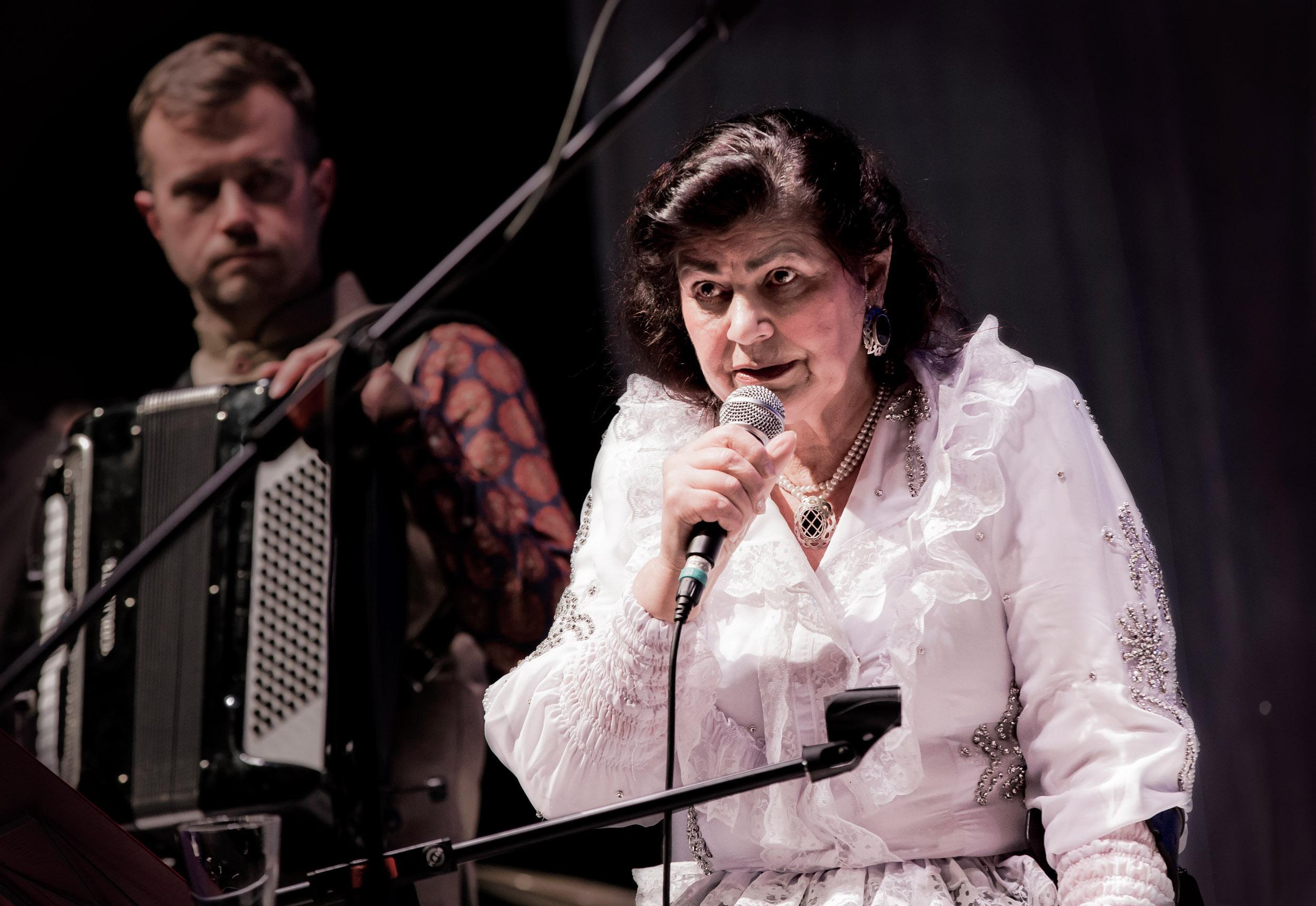 Romanimusiikin legenda Hilja Grönfors