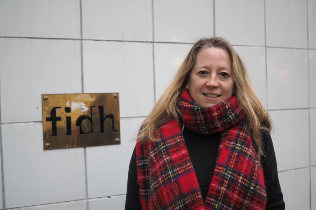 FIDH:n johtaja Éléonore Morel
